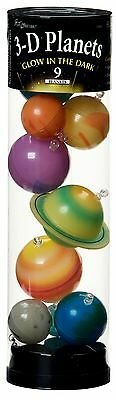 3D Glow In Dark Solar System Planets Ceiling Children Room Hanging Decoration