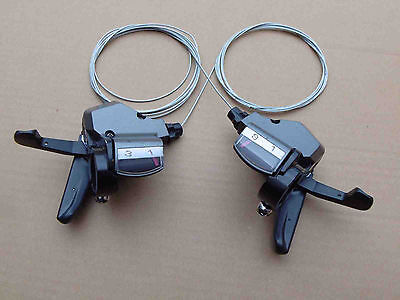 3x9 27 Speed Left  Right Shifter Rapidfire Plus Shifter Set fit for shimano type
