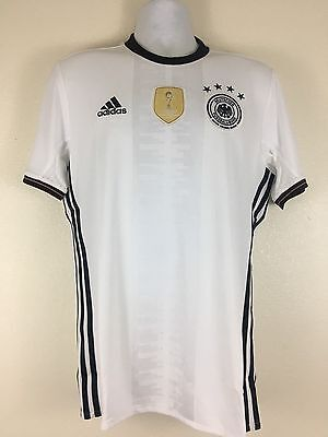 ce5745a46cf AI5014 ADIDAS GERMANY Home White Soccer Jersey Men's Size: S Retail: $90.00