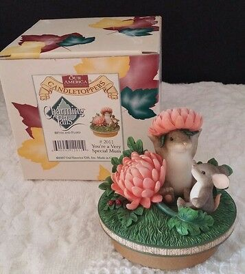 Cute Mice Charming Tails Topper