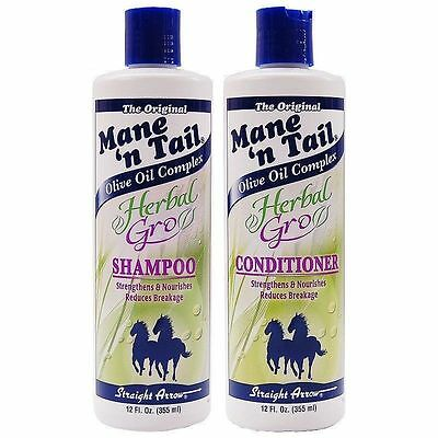 Mane N Tail Herbal Gro Shampoo and Conditioner 355ml - UK SELLER - FREE DELIVERY