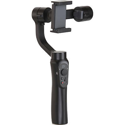 Tech Smooth Q Professional 3-Axis Handheld Gimbal Stabilizer Black