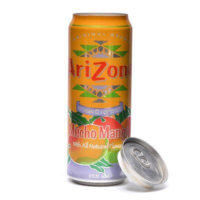 Mango Diversion Safe Soda Stash Can Hide Cash Jewelry Large Hidden Container