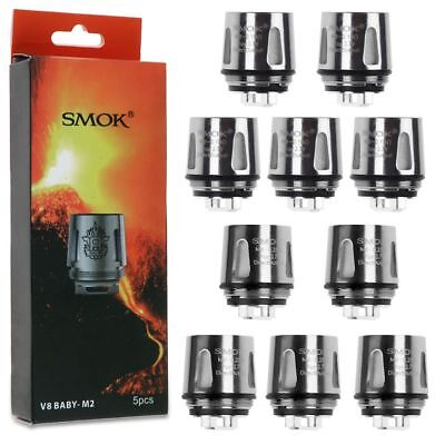 5er/Pack SMOK Baby TFV8 Tank T6 T8 X4 M2 Q2 Coil Beast Head CAtomizer Verdampfer