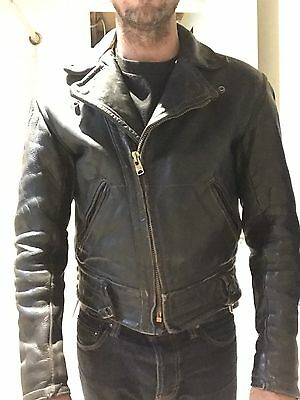 cal leather jacket LAPD 40 Vintage 50's