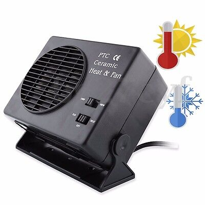 300W Electric Ceramic Car Travel Heater Heating Warmer Fan Defroster Demister