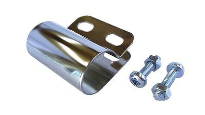 Scooter Bar Badge Bracket 20mm with Nuts & Bolts FREE UK P&P