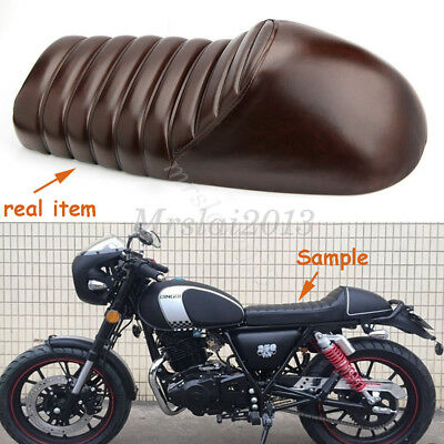 Vintage Saddle Cafe Racer Hump Retro Seat For for Honda CB GB XL Yamaha SR XJ GS