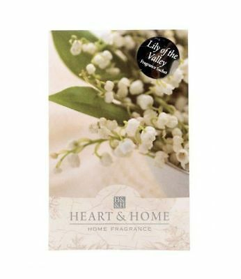 Heart and Home Lily of the Valley Large Fragrance Scented Sachet with Hanger