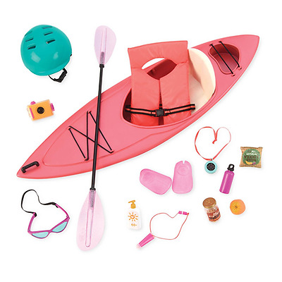 Our Generation : Accessory for an 18-Inch Doll : Kayak Adventure Set