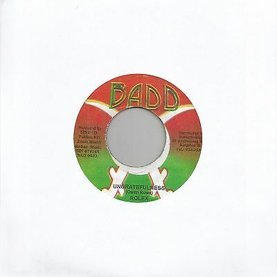 "Rolex - Ungratefulness (Reggae 7"" Single)"