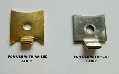 Shelf Supports Clips Studs For Flat Or Raised Profile Bookcase Strips - Packs