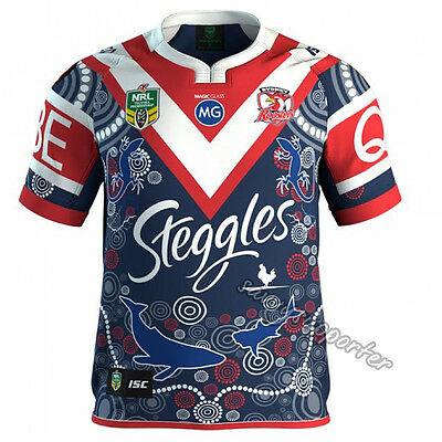 Sydney Roosters 2017 NRL Indigenous Jersey Adults & Kids Sizes Available