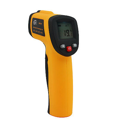 Non Contact Ir Infrared Laser Gun Easy Precise Temperature Test Thermometer
