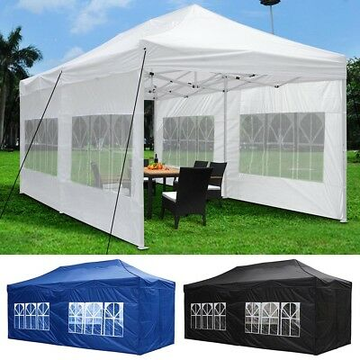 Pop Up Canopy  - 3x6m Outdoor Folding Party Market Shade Gazebo Marquee Tent