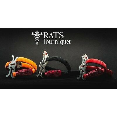 Pack of (3) New! R.A.T.S. Rapid Application Tourniquet System, Made In USA
