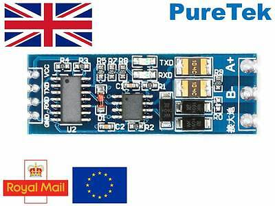 XY-017 UART 3 3V 5V TTL to 12v RS485 Module for Arduino RPi ESP8266 etc