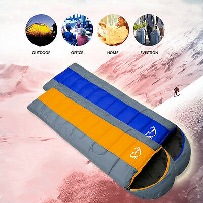 Mummy Sleeping Bag 5C-15°C Camping Hiking With Carrying Case Brand US SHIP HO