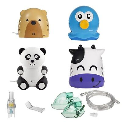 Animals Inhaler Perfect For Children Nebulizer Set Of Masks And Filters