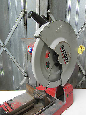 Ridgid 590L Dry Cut Saw 14in 355mm Rigid Chop Saw   REF 5846