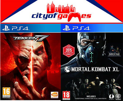 Tekken 7 & Mortal Kombat XL Bundle PS4 Game New & Sealed In Stock