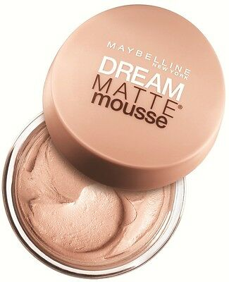 Maybelline Dream Matte Mousse Make-Up Foundation 18ml