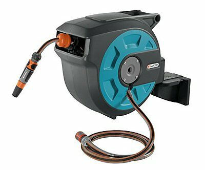 Gardena 8022-20 Comfort Wall Mounted Hose 15 roll-up automatic