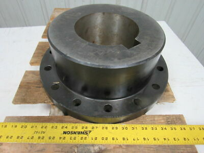 "Lovejoy Size 55 Farr Coupling Exposed Bolt 7"" Bore 16.5"" OD 6-1/4"" Thick"