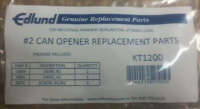 Edlund KT1200 Repalcement kit #2 Replacement Parts Kit, includes: (1) G004, (1)