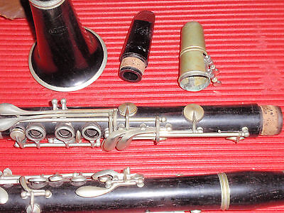 Warner Clarinet Vintage With Selmer Mouthpiece