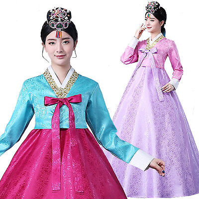 Beautiful Women Hanbok Dress Korean Traditional Dress Korean National Costume