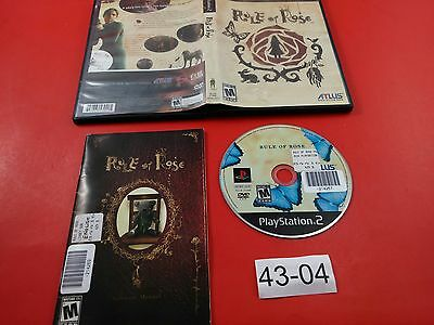 Rule of Rose [Complete CIB] (Sony Playstation 2 PS2) Tested & Working