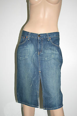 Levi's Gonna Jeans Donna Skirt Woman Tg M Casual H962