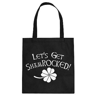 Tote ShamROCKED Cotton Canvas Tote Bag #3232