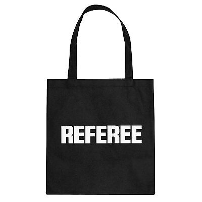 Tote Referee Cotton Canvas Tote Bag #3269