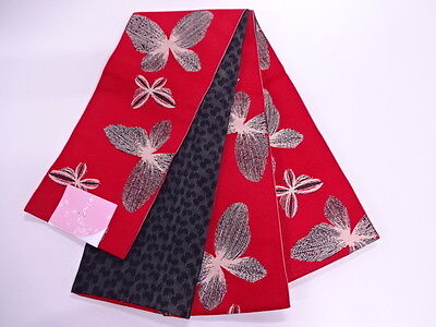 High Class Antique Hanhaba Obi For Japanese Kimono, Beautiful Craft Material,
