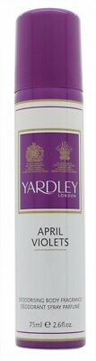 Yardley April Violets Body Spray - Women's For Her. New. Free Shipping