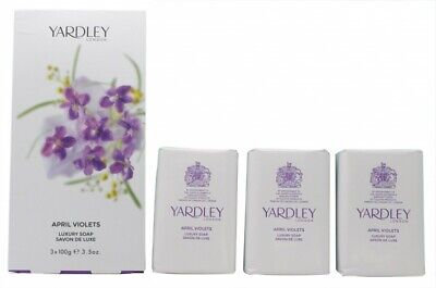 Yardley April Violets Soap - Women's For Her. New. Free Shipping