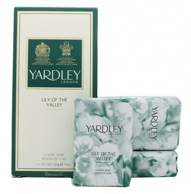 Yardley Lily Of The Valley Soap - Women's For Her. New. Free Shipping