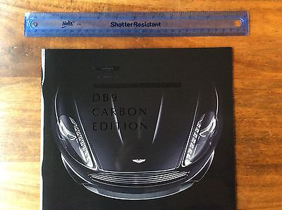 Aston Martin DB9 Carbon Edition Brochure