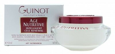 Guinot Age Nutritive Creme De Soin Visage Face Cream - Women's For Her. New