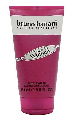 Bruno Banani Made For Women Shower Gel - Women's For Her. New. Free Shipping