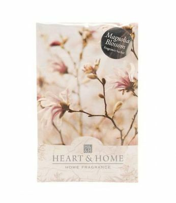 Heart and Home Magnolia Blossom Large Fragrance Scented Sachet with Hanger