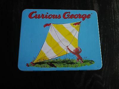 Curious George flying a kite lunch box by Schyling