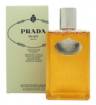 Prada Infusion D'iris Bath & Shower Gel - Women's For Her. New. Free Shipping