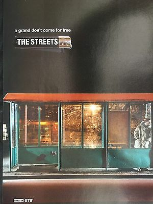 """THE STREETS # A GRAND DON,T COME FOR FREE # 2005 ALBUM ADVERT # 11"""" x 8"""" #"""
