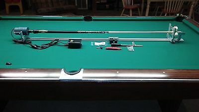 Delux Pool Cue Repair Lathe + Bed Extension + Constant Speed Control + Manual