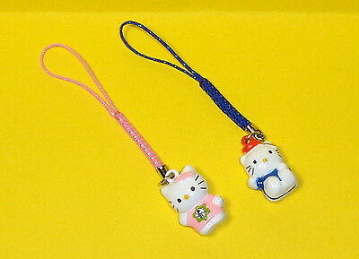 **USA SELLER** 2 Hello Kitty Bell Charms for Cell Phone, Camera, etc.