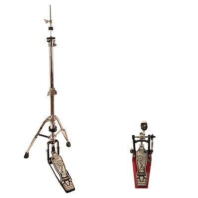ChromaCast Pro Series Double Braced Hi Hat Stand and Chain Drive Pedal