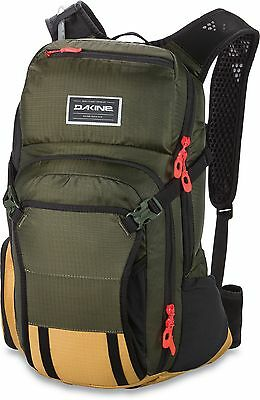 Dakine Cycle Backpack - Drafter - 18L, Jungle, Hydration Pack - 2017 RRP £105